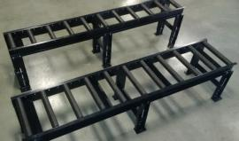 We carry 5' and 10' conveyors - custom built and in stock.
